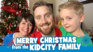 Merry Christmas from KidCity Family + ToysRus Toys Trip for Salvation Army Angel Tree