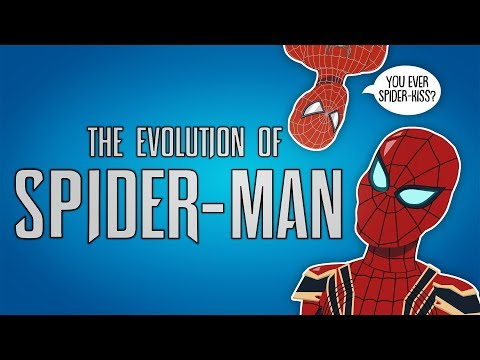 The Evolution of Spider-Man (Animated)