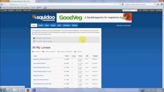 Squidoo lense earnings case study ...