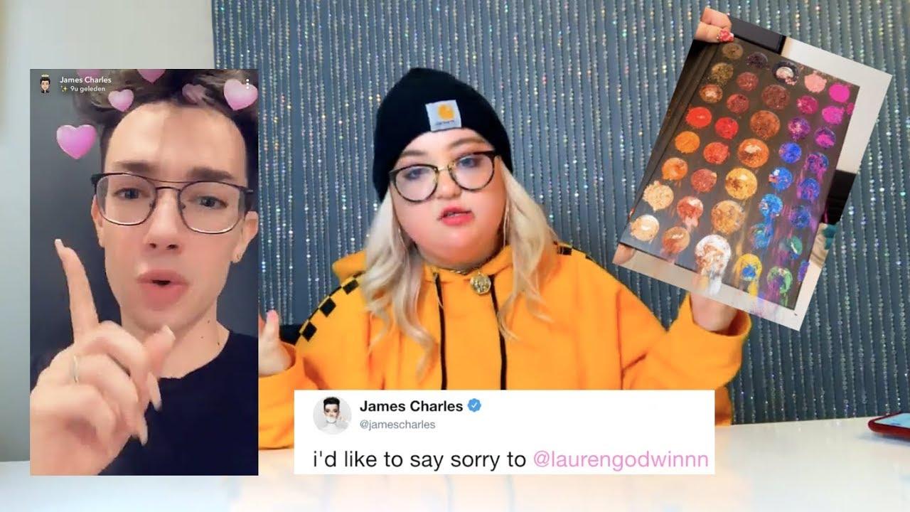 Outraged James Charles Fans Create Memes, Destroy YouTuber's Make-up Palettes