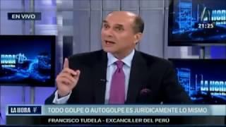 Francisco Tudela (Ex-Canciller del Perú) 2017-04-04
