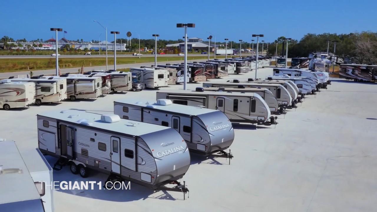 Giant Recreation World Rv Dealer Palm Bay Youtube