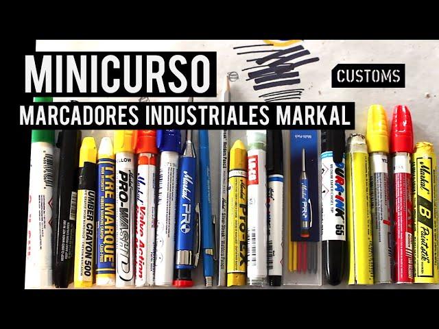 Marcadores industriales Markal | MINICURSO | CUSTOMS