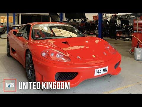 He Took 10 YEARS To Build World's FASTEST Ferrari 360