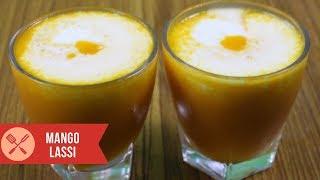 Best Mango Lassi recipe, make mango yogurt smoothie to beat Summer with sweet lassi