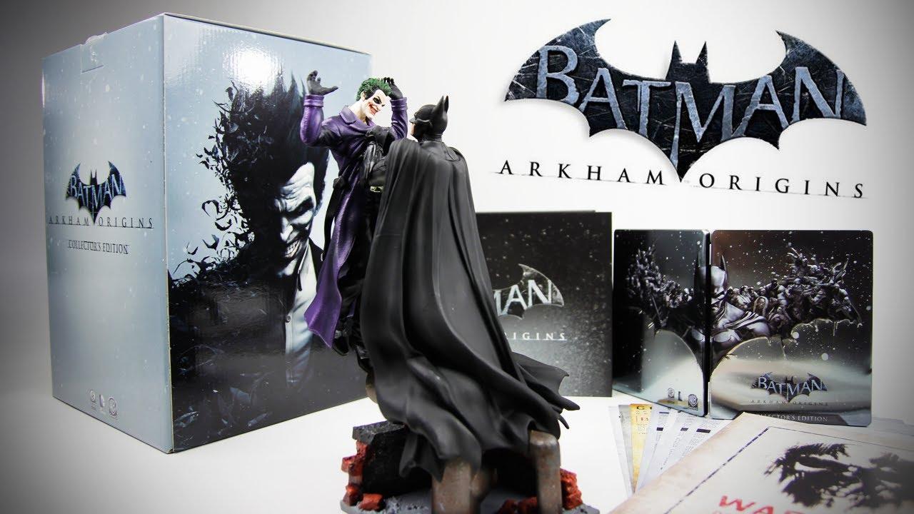 Batman Arkham Origins Collectors Edition Unboxing