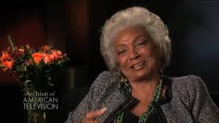 Nichelle Nichols on filming the first interracial kiss on American television