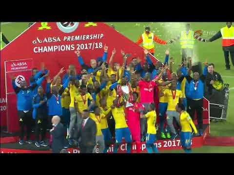 Mamelodi Sundowns | 2017-18 Absa Premiership Champions Trophy Lifting