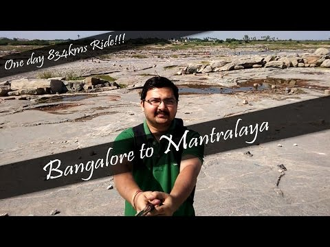 Bangalore to Mantralaya and back | A ride which I never Forget