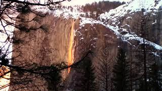 Yosemite Horsetail Firefalls - February 22, 2019