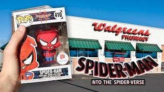 Spider man Walgreens Funko Pop Hunting!