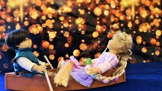 Episode 2 ~ American Girl Doll as Rapunzel in Tangled Movie AGSM