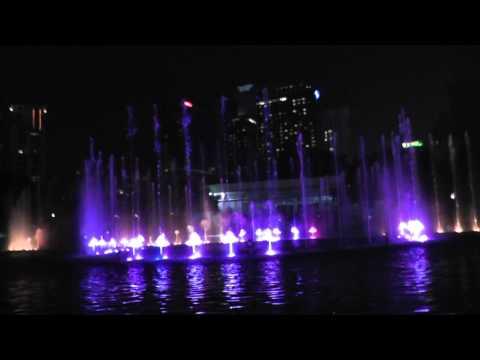 KLCC Musical Fountain, Kuala Lumpur, 2015
