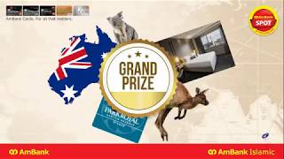 Win a Holiday with AmBank Cards!