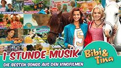 Bibi & Tina - 1 Stunde Flashback in deine Kindheit - die beliebtesten Songs aus den 4 Kinofilmen