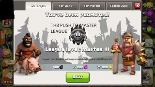 Clash of Clans: Push to Master League TH8 Part 1