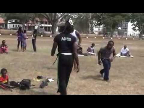 01-19-2013 Abibifahodie Capoeira Accra Ghana Open Roda