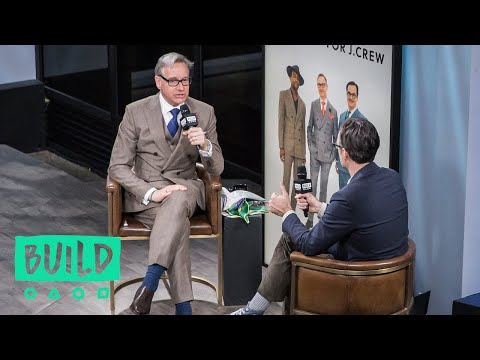 Paul Feig Swings By To Discuss His J. Crew Menswear Collection