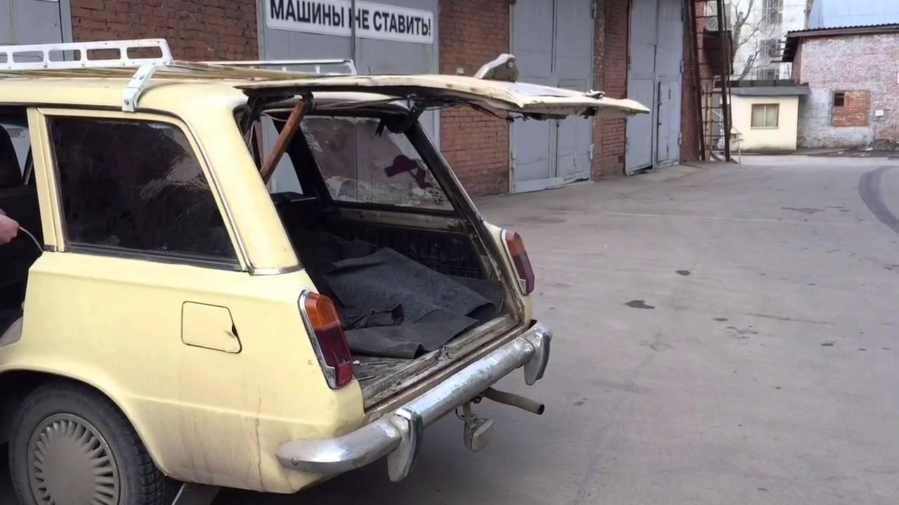 Электропривод крышки багажника ВАЗ 2102