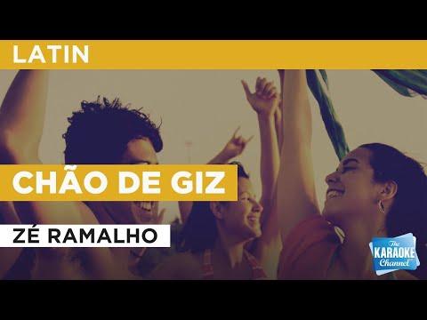 Chão De Giz : Zé Ramalho   Karaoke With Lyrics