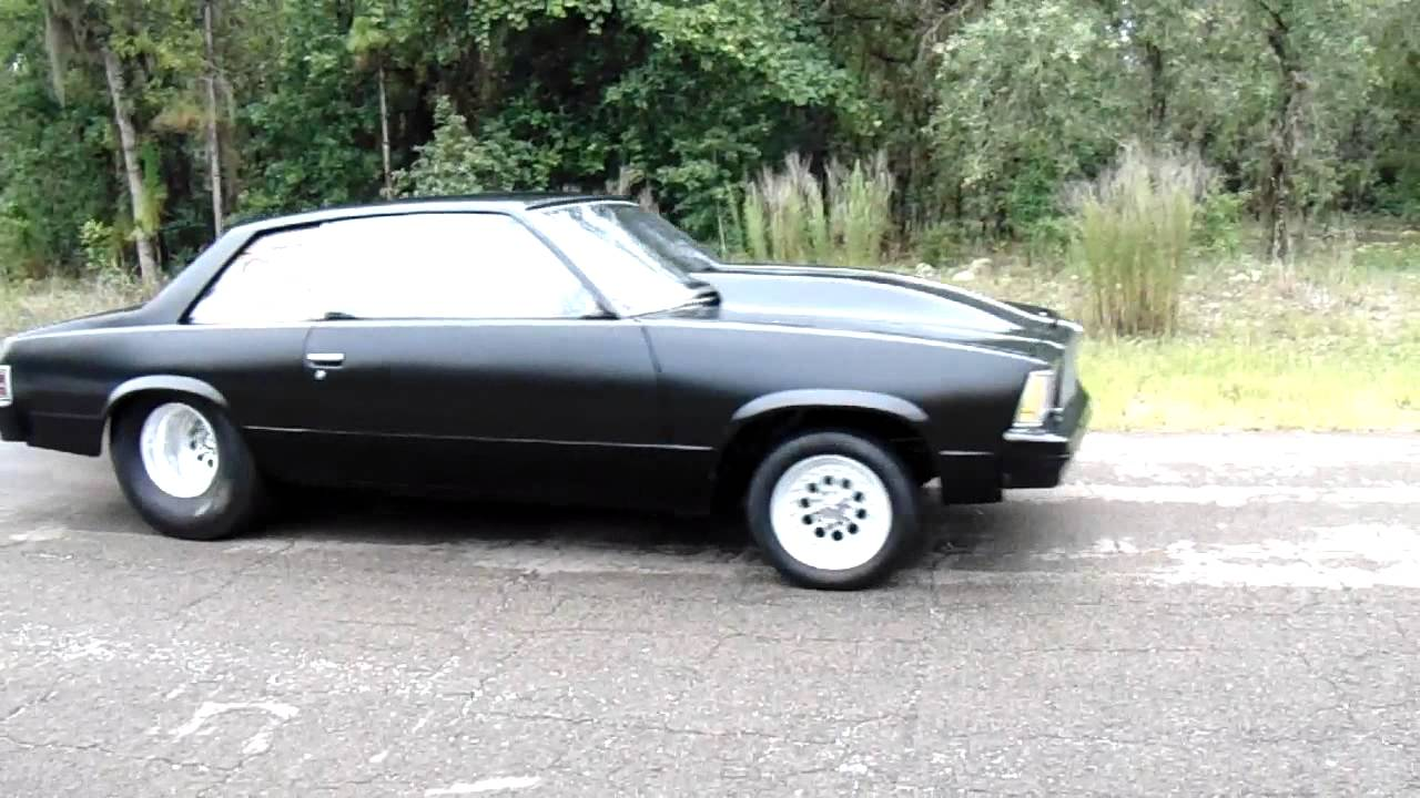 1978 Malibu Pro Street Drag Car - YouTube