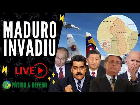 Maduro Quer a Guiana