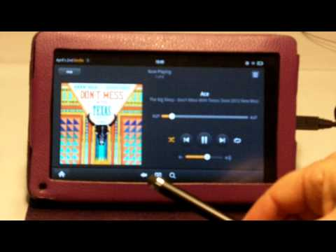 playing-music-on-the-kindle-fire