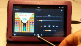 Playing Music on the Kindle Fire