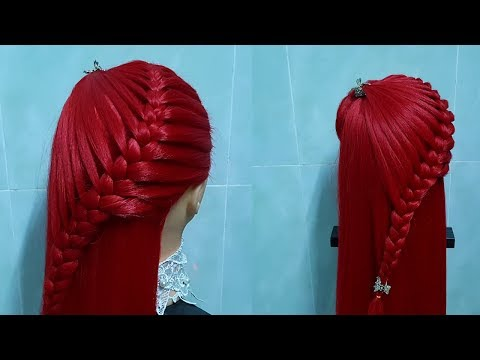 Everyday hairdressing for school  college 💗 Hairstyle for girls 💗 easy and quick braid