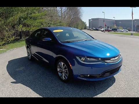 2016 Chrysler 200S|18281A