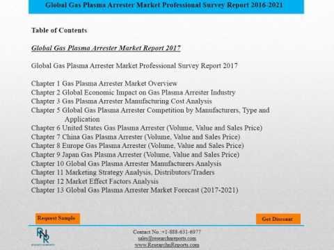 Global Gas Plasma Arrester Market Research Report Forecast 2017 2021