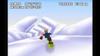 FF7 - Gold Saucer - Snowboard Course A - 100/100
