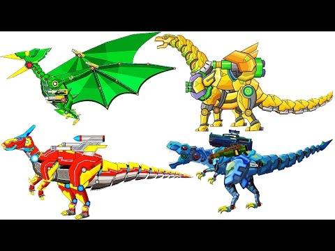 Dinosaur Robot Wars #3: Pterosaurs & Parasaurolophus | Eftsei Gaming