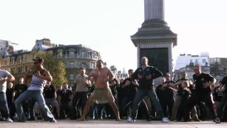 The All Blacks are coming - Haka flashmob invades Trafalgar Square
