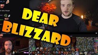 """Asmongold Watches """"Dear Blizzard... Reclaiming The Excitement of Warcraft"""" by Bellular"""