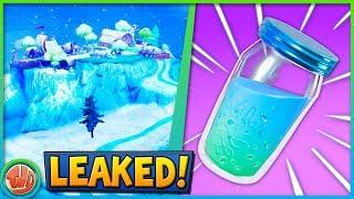 - LEAKED - SNOW AREA COMING SOON - SLURP JUICE UPDATE!! -Fortnite: Bataille Royale
