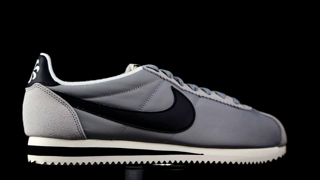 nouveau produit c5a8b e4d13 Nike Cortez lona gris.