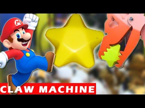 mario claw machine