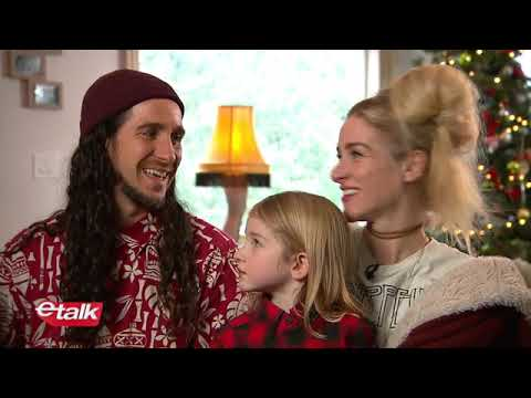 ETalk Holiday Interview With Gianni And Sarah + Kids