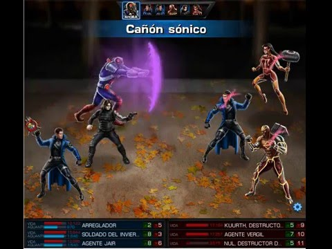 Winter Soldier & Fixer bombas locas VS Null & Kurt (MAA)