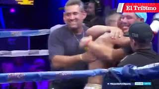 "VIDEO. El jujeño Juan ""El Pitbull"" Velasco es campeón sudamericano superligero"
