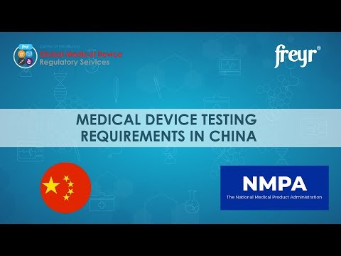 Medical Devices Testing Requirements In  China