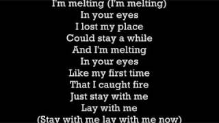 I Caught Fire( in your eyes ) - The Used Lyrics