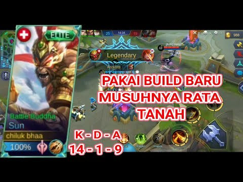 Build Sun Terbaru - Mobile Legends Bang Bang