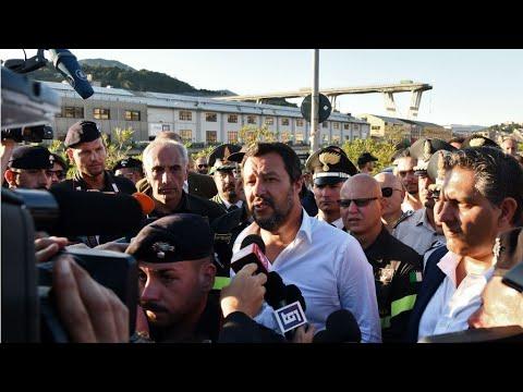 فرانس 24:Italy hunts for blame in bridge collapse that killed 39