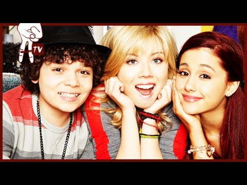 Jennette McCurdy pees her pants - SAM & CAT set visit w/ Ariana Grande&Cameron Ocasio