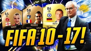 FIFA 10-17 - LEICESTER TITLE WINNERS, HOW THEY CHANGED IN FUT! #1 thumbnail
