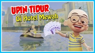 VERY COOL!! UPIN BED IN LUXURY HOTEL-ROBLOX UPIN IPIN