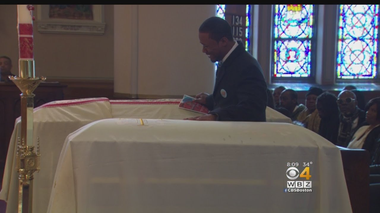 Funeral Held For Brockton Brothers Allegedly Slain By Their Mother