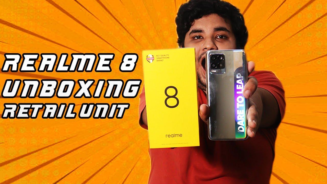 Realme 8 Unboxing English | Realme 8 flipkart unboxing silver | #Shorts #realme8unboxing